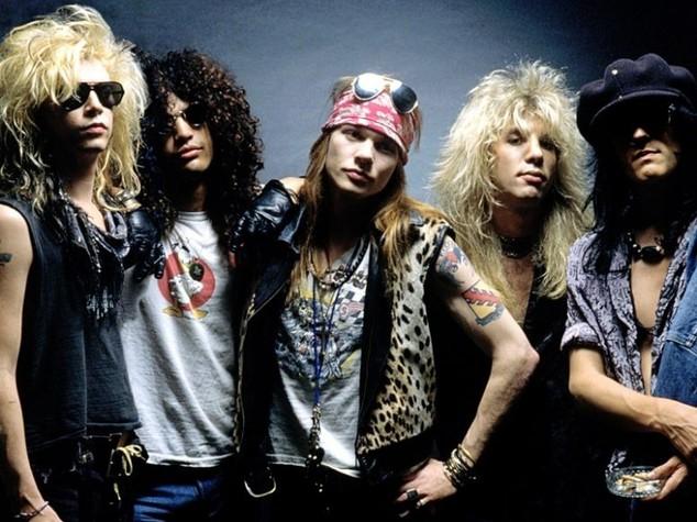 Guns n'Roses - foto tratta da agi.it